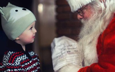 Believing in Santa Could Lead to Weight Loss…
